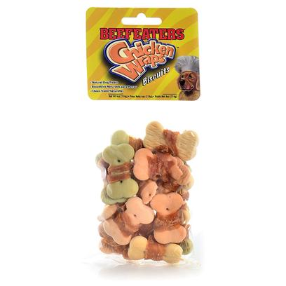 Beefeaters Chicken Wrapped Biscuits Treats For Dogs