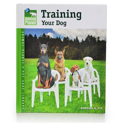 "Nylabone Presents Animal Planet-Training your Dog Planet Training Book. This Enjoyable Guide Includes Quick-Reference ""Make it Easy"" Boxes to Recap Important Information and Basic Training Techniques that Encourage Obedience in your Dog. T.F.H. Has Teamed Up with Animal Planet, the only Television Network Devoted to the Unique Bonds Between Humans and Animals, to Present an Exciting New Series of Family-Friendly, Comprehensive Guides to Superior Pet Care. Each Book Features Newly Written Text from Animal Experts on a Variety of Topics, Including Feeding, Housing, Grooming, Training, Health Care, and Fun Activities. Useful Tip Boxes in Each Chapter Show Every Member of the Household how to Make the Most out of Owning a Pet. [26275]"