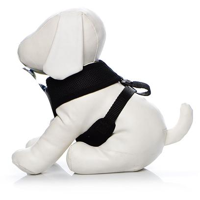 Four Paws Presents Four Paws Comfort Control Harness-Black Large. Four Paws Comfort Control Harnesses are Comfortable for Small Dogs to Wear with Complete Control for the Owner. The Durable, Long Lasting Neoprene Mesh Material is a Very Light Weight and Breathable for Comfort. Black Xx-Large 29-40lb [26448]