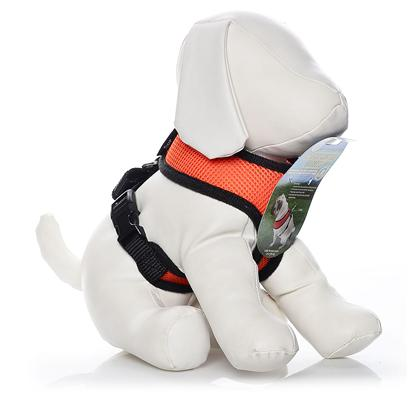 Four Paws Presents Four Paws Comfort Control Harness-Orange Large. Four Paws Comfort Control Harnesses are Comfortable for Small Dogs to Wear with Complete Control for the Owner. The Durable, Long Lasting Neoprene Mesh Material is a Very Light Weight and Breathable for Comfort. [26459]