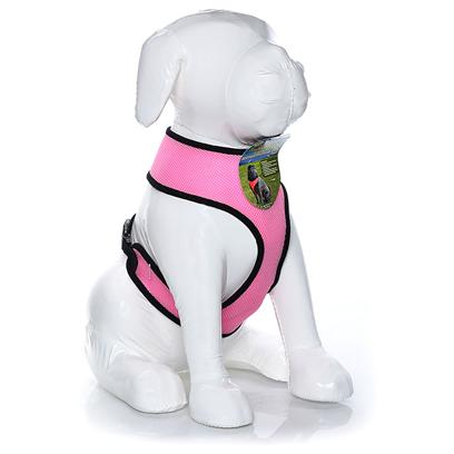 Four Paws Presents Four Paws Comfort Control Harness-Pink Large. Four Paws Comfort Control Harnesses are Comfortable for Small Dogs to Wear with Complete Control for the Owner. The Durable, Long Lasting Neoprene Mesh Material is a Very Light Weight and Breathable for Comfort. Pink Xx-Large 29-40lb [26465]