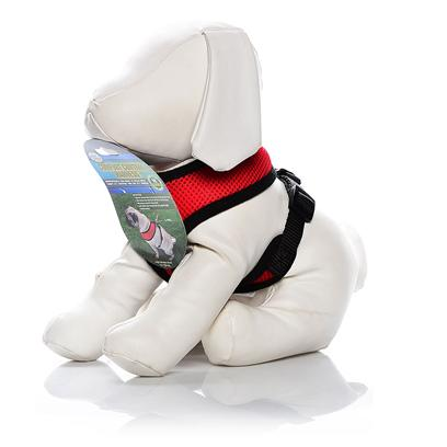 Four Paws Presents Four Paws Comfort Control Harness-Red X-Small. Four Paws Comfort Control Harnesses are Comfortable for Small Dogs to Wear with Complete Control for the Owner. The Durable, Long Lasting Neoprene Mesh Material is a Very Light Weight and Breathable for Comfort. [26471]