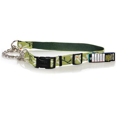 "Coastal Presents Check-Choke Adjustable Training Collar C Wve Check Choke 1' 29' Das. A New Twist on Fashion Rises to the Top with this Limited Closure Check-Choke in an Intricately Woven ""Daisy"" Pattern. Perfect for Dogs Whose Necks are Larger than their Heads, Check-Chokes Featuring a Quick and Easy Snap-Lock Buckle. Suitable for Large Dogs, this Collar Adjusts from 22"" Up to 29"". 1"" X Adj. 22""-29"" Daisy Pattern [26668]"