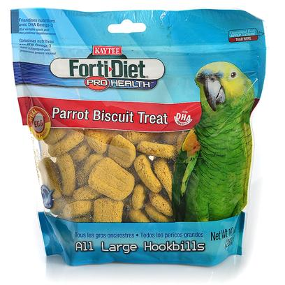 Kaytee Presents Forti Diet Pro Health Canary Parrot Biscuits 10oz. Kaytee Forti-Diet Pro Health Biscuits are a Nutritious Treat that Complements any Diet. Also Makes a Great Training Aid. Kaytee Added Dha Omega-3 to Support Heart, Brain and Visual Functions and Natural Prebiotics and Probiotics to Aid in the Digestive Health of your Pet. 10 Oz [26802]