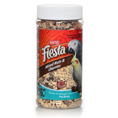 Kaytee Presents Fiesta Mixed Nut Cherry Treat Jar 8oz Kt Mix Chry. - [26824]
