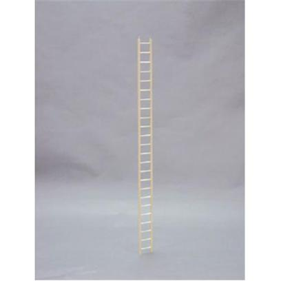North American Pet Presents Wood Keet Ladder Bob 24'. Allows Easy Access from the Floor to the Cage! Our Wooden Ladders Make it Affordable for your Customer to Customize their Bird's Cage in a Variety of Ways. This Ladder is Designed for Ease of Use by Small to Medium Sized Birds. Each Ladder Comes with its Own Upc for Easy Identification. Bulk Item Dimension 3.5&quot;X.5&quot;X50&quot; [26870]