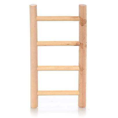 North American Pet Presents Wood Parrot Ladder Bob 8'. Our Wooden Ladders Make it Affordable for your Customer to Customize their Bird's Cage in a Variety of Ways. This Ladder is Designed for Ease of Use by Parrots. Each Ladder Comes with its Own Upc for Easy Identification. Bulk Item Dimension 6.3&quot;X.5&quot;X10.5&quot; [26871]