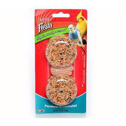 Buy Kaytee Fiesta Swing a Treat products including Kaytee Fiesta Parrot Trop Swing-a-Treat 3.1oz, Kaytee Fiesta Small (Sm) Brd Trop Swing-a-Treat 3.5oz Category:Treats Price: from $4.99