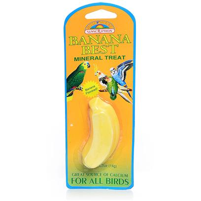 Buy Mineral Block 1.25oz for Birds products including Mineral Block 1.25oz Small-Banana, Mineral Block 1.25oz Small-Berry, Mineral Block 1.25oz Small-Grape Category:Treats Price: from $1.99