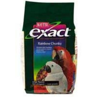 Kaytee Presents Kaytee Exact Rainbow Parrot Chunky 2.5lb 6cs 2.5lb-6cs. 6/2.5 Exact Parrot Rnbw Chnky [26939]