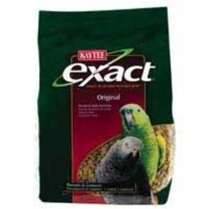 Kaytee Presents Kaytee Exact Original Parrot 4lb 6cs 4lb-6cs. 6/4 Exact Parrot [26945]