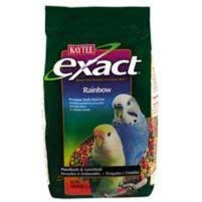 Buy Exact Rainbow Food Birds Pellets products including Kaytee Exact Rainbow Parrot 2.5lb 6cs Kt Rb, Kaytee Exact Rainbow Parrot Chunky 2.5lb 6cs 2.5lb-6cs, Kaytee Exact Rainbow Keet 2lb 6cs 2lb-6cs, Kaytee Exact Rainbow Softbill 2.5lb 6cs Kt Rb, Kaytee Exact Rainbow Parrot 2.5lb 6cs Kt Rb 4lb Category:Pellets Price: from $47.99