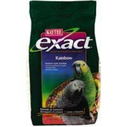 Kaytee Presents Kaytee Exact Rainbow Parrot 2.5lb 6cs Kt Rb 4lb. 6/2.5 Exact Parrot Rnbw [26950]