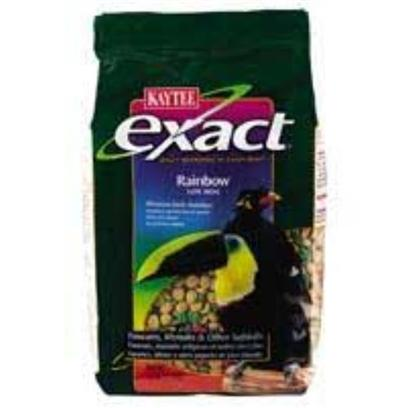 Buy Kaytee Exact Rainbow Pellet Food products including Kaytee Exact Rainbow Parrot 2.5lb 6cs Kt Rb, Kaytee Exact Rainbow Parrot Chunky 2.5lb 6cs 2.5lb-6cs, Kaytee Exact Rainbow Keet 2lb 6cs 2lb-6cs, Kaytee Exact Rainbow Softbill 2.5lb 6cs Kt Rb, Kaytee Exact Rainbow Parrot 2.5lb 6cs Kt Rb 4lb Category:Pellets Price: from $47.99