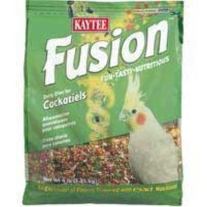Kaytee Presents Kaytee Kt Fusion Tiel 4lb 6cs. 6/4 Kt Fusion Tiel [26962]