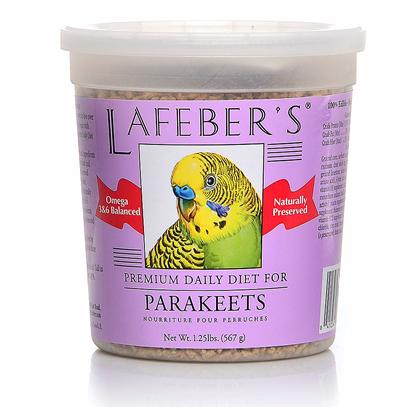 Lafeber Company Presents Parakeet Pellets 1.25lb 5lb Tub. Lafeber's Premium Daily Diet Pellets have been on the Market for over 25 Years. The Pellets Contain all the Necessary Vitamins, Minerals and Amino Acids Needed for Good Health and Nutrition. Made with High Quality Ingredients, Locally Grown Non-Gmo Corn and Human Grade Whole Egg, which is the Most Highly Digestible Source of Protein Available. A Hint of Natural Molasses Adds a Great Taste to the Pellets. Since Birds Quickly Burn Calories this Diet is Ideal for their Highly Efficient Metabolism and Higher Body Temperature. When Feeding your Bird Premium Daily Diet Pellets, no Vitamin or Mineral Supplements are Needed. Watch your Bird Glow with Good Health on a Diet of Lafeber's Premium Daily Diet Pellets 1.25 Lb. Tub [26968]