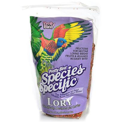 Pretty Bird International Presents Lori Select with Fructose 3lb Bag. An Easy to Feed Alternative to Messy Nectar Diets and Contains Fructose. Lories also Love Fruit which should be Offered on a Daily Basis. 16% Protein and 6% Fat in Mini Sized Morsels. Packaged in 3 Lb. Bags Manufactured 6 Per Case [26988]