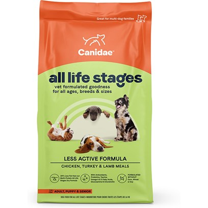 Canidae Presents Canidae Platinum Senior and Overweight Dogs Dry Food 30lb Bag. Analysis Crude Protein20.00% Crude Fat8.50% Crude Fiber4.00% Moisture10.00% Linoleic Acid (Omega 6)2.60% Calcium1.20% Phosphorus 0.90% Alpha Linolenic Acid (Omega 3) 0.50% [27308]