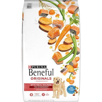 Nestle Purina Petcare Presents Purina Beneful Healthy Radiance Skin and Coat Dry Dog Food 15.5lb Bag. Analysiscrude Protein (Min)25.0%Calcium (Ca) (Min)1.2%Crude Fat (Min)7.0%Iron (Fe) (Min)175 Mg/Kg Crude Fiber (Max)9.0%Selenium (Se) (Min)0.2 Mg/Kgmoisture (Max)14.0%Vitamin a (Min)10,000 Iu/Kglinoleic Acid (Min)1.2%Vitamin E (Min)100 Iu/Kg [27407]
