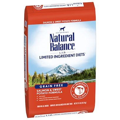 Natural Balance Presents Natural Balance L.I.D. Limited Ingredients Diets-Sweet Potato and Fish Dry Dog Food 15lb Bag. Natural Balance® L.I.D. Limited Ingredient Diets® are Designed with a Limited Number of Protein and Carbohydrate Sources. Scientifically Formulated to Provide High Quality Nutrition and Optimize your Dog'S Skin and Coat, L.I.D. Limited Ingredient Diets® are Complete and Balanced Options for all Breeds and Life Stages.Salmon Premium Quality Protein Source not Commonly Used in Pet Foods.Sweet Potatoes Premium Quality Carbohydrate Rich in Potassium and a Highly Digestible Energy Source.Canola Oil Low in Saturated Fat and High in Monounsaturated Fat. Excellent Omega-3 and Omega-6 Fatty Acid Profiles.Salmon Oil High in Omega-3, Source of Dhaflaxseed an Excellent Source of Omega-3 Fatty Acids.No Artificial Flavors or Colors. [27433]