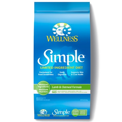 Buy Dogs Wellness Simple Lamb & Oatmeal Formula products including Wellness Simple Lamb & Oatmeal Formula 26lb Bag, Wellness Simple Canned Lamb & Oatmeal Formula 12.5oz-Case of 12 Category:Dry Food Price: from $30.99