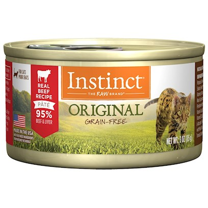 Nature's Variety Presents Nature's Variety Grain Free Beef Canned Cat Food 3oz Cans-Case of 24. Grain-Free Canned Cat Food (no Fillers or Soy) - Proven to Provide Great Taste and Nutrition Complete and Balanced for all Life Stages and all Breeds Made in the Usa Helps your Cat Reach and Maintain an Ideal Weight Along with Proper Portions and Exercise may Provide Relief from Most Food Allergy Symptoms [27992]
