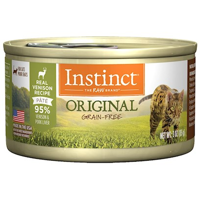 Nature's Variety Presents Nature's Variety Instinct Grain Free Venison Canned Cat Food 3oz Cans-Case of 24. Nature's Variety Instinct Grain Free Venison Canned Cat Food, Gives your Pet the Nourishment and Vitality to Enjoy Life Every Day. [28000]
