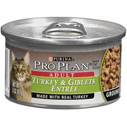 Pro Plan Canned Turkey/Giblets Adult Cat Food