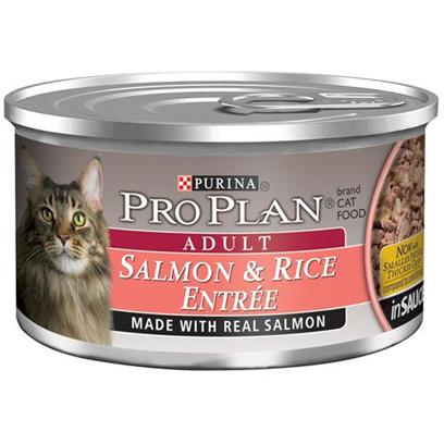 Buy Pro Plan Canned Salmon/Rice for Adult Cats products including Pro Plan Canned Salmon/Rice for Adult Cats 24 3oz Cans, Pro Plan Canned Indoor Salmon/Rice for Adult Cats 24 3oz Cans, Pro Plan Total Care Dry Salmon and Rice Cat Food & 16lb Category:Canned Food Price: from $18.99