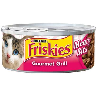 Nestle Purina Petcare Presents Friskies Canned Classic Pate Mixed Grill for Cats 5.5oz Cans-Case of 24. Analysis Crude Protein (Min)10.0 % Crude Fat (Min)5.0 % Crude Fiber (Max)1.0 % Moisture (Max)78.0 % Ash (Max)3.0 % Taurine (Min)0.05 % [28042]