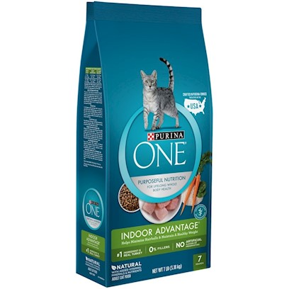 Nestle Purina Petcare Presents O.N.E. Advanced Nutrition Hairball Formula for Cats 16lb Bag. Analysis Crude Protein (Min) 34.0% Phosphorus (P) (Min) 0.9% Crude Fat (Min) 14.0% Selenium (Se) (Min) 0.30 Mg/Kg Crude Fiber (Max) 5.0% Vitamin a (Min) 11,000 Iu/Kg Moisture (Max) 12.0% Vitamin E (Min) 100 Iu/Kg Linoleic Acid (Min) 1.4% Taurine (Min) 0.15% Calcium (Ca) (Min) 1.0% [28066]
