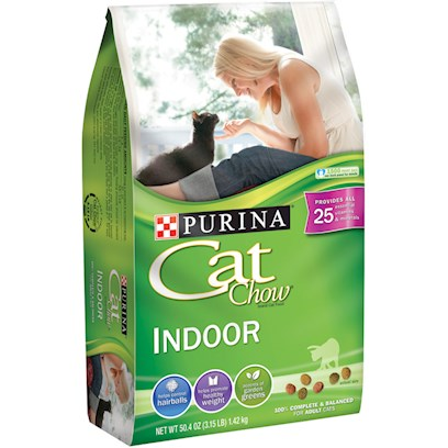 Nestle Purina Petcare Presents Purina Cat Chow Indoor Formula 16lb. Analysis Crude Protein (Min) 30.0% Crude Fat (Min) 9.50% Crude Fiber (Max) 6.00% Moisture (Max) 12.00% Linoleic Acid (Min) 1.25% Calcium (Ca) (Min) 1.0% Phosphorus (P) (Min) 0.8% Selenium (Se) (Min) 0.30 Mg/Kg Vitamin a (Min) 10,000 Iu/Kg Vitamin E (Min) 100 Iu/Kg Taurine (Min) 0.125% [28089]
