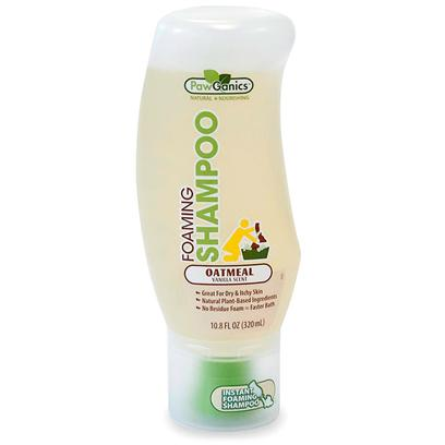 Buy Pawganics Foaming Shampoo for Dogs-Oatmeal Formula 10.8oz a Natural Shampoo that'S Easy to Use Make Bath Time More Enjoyable for Both you and your Dog with this Instant-Foaming, Quick-Rinsing Shampoo. The Bottle is Shaped for One-Handed Applications that Foam on Contact and Require Less Water to Rinse off, Leaving no Residue Behind. The Oatmeal Protein Formula is Made with Natural Plant-Based Ingredients that Moisturize Dry, Itchy Skin and Leave your Dog'S Coat Soft and Smooth. This Vanilla-Scented Shampoo is Non-Toxic and Hypoallergenic, Making it a Great Choice for Dogs with Sensitive Skin. [28176]