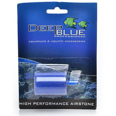 Deep Blue Professional Presents Deep Blue High Performance Air Stone-1' Cylinder 2 Pack. Deep Blue Professional Air Stone Cylinder 1' Twin Pack High Performance Air Stone Twin Pk - 1' Cylinder (2.5 X 1.5cm) Highly Porous Long Lasting Air Diffuser Provides Even Aeration. Royal Blue Deep Blue Professional Air Stone Cylinder 1.5' High Performance Air Stone - 1.5' Cylinder (3.8 X 2.7cm) Highly Porous Long Lasting Air Diffuser Provides Even Aeration. Royal Blue [28189]
