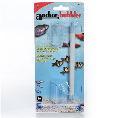 Jw Pet Company Presents Jw Pet Company (Jw) Pet Company Anchor Bubbler Wand 9'. Anchor Bubbler 9&quot; is Specially Designed to Make Placing the Bubbler into the Gravel Quick and Easy! The Clear Blue Anchors Easily Slide under the Gravel and Keep the Bubblers in Place. These Amazing Anchors Prevent the Bubbler from Floating and there are no Suction Cups Needed! [28208]