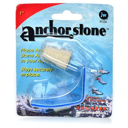 "Jw Pet Company Presents Jw Pet Company (Jw) Pet Company Anchorstone Sand Air Stone 6'. The Super Porous Surface of the Anchorstone Sand Airstone 4"" by Jw Aquatics Produces a Constant Bubble Flow, which Adds Much Needed Oxygen to Aquariums for Healthy Fish. With its Patented Anchor Feet, the Anchorstone can be Securely Placed Anywhere in the Aquarium without the Use of Suction Cups. The Anchorstone is also Wider than Other Air Stones, which Results in an Abundant Wall of Bubbles. Jw Pet Company Anchorstone Sand Air Stone 2"" Single Pack [28213]"