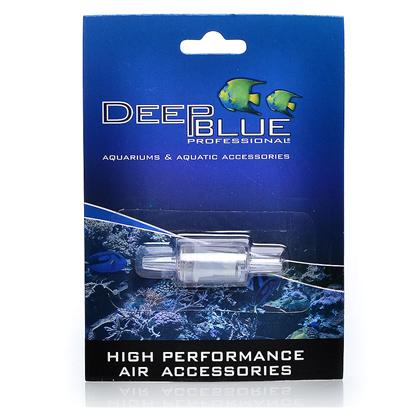 Deep Blue Professional Presents Deep Blue Inline Air Check Valve Db High Performance. High Performance Inline Air Check Valve Prevents Sudden Backflow and Siphoning. Helps Protect Pump and Precious Livestock. [28246]