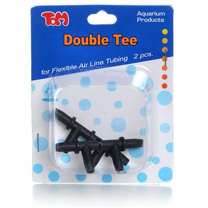 Tom (Tominaga/Oscar) Presents Tom Air-Double Tee 2pk Airline Double Connector. Enables Multiple Line Extensions. [28266]