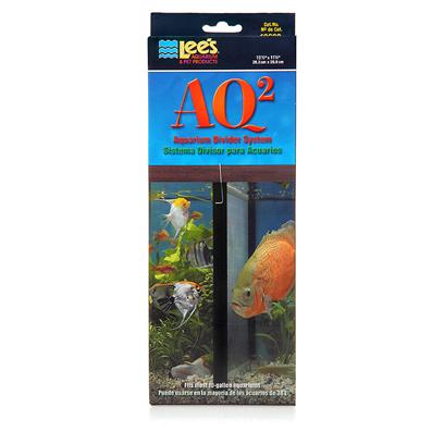 Lee's Presents Lee's Aq2 Aquarium Divider System 20h Gallon. Divide your Fish Tank. Do you have Aggressive Fish, that can'T Get Along with the Rest of the Fish in your Tank? With Lees Aquarium Divider, you can Separate them from the Pack, Keeping Peace in the Tank. You can also Use them to Divide Aquariums for Breeding Purposes. Lees Aquarium Dividers are Designed to Fit Most Standard Sized Tanks. [28396]