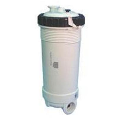"Lifegard Aquatics Presents Lifegard Aquatics (Lfgd) Rtl25 Commercial Filter Cartridge. High Flow Mechanical Filter with 2"" Suction and 2"" Discharge. Small Footprint. To Convert to a Chemical Filter Remove the Cartridge and Place Carbon in a Filter Bag Inside the Chamber Filter Area 25 Sq Ft. Flow Rate 100 Gpm 8.25"" Diameter 18"" Tall [28450]"
