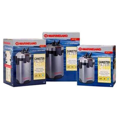 Marineland Presents C-160, C-220, C-360 Canister Filter C-160. The Revolutionary Design of the New Marineland Multi-Stage C-Series Canister Filter Forces Water to Pass through the Filter Media Trays and not Around Them. With Virtually no Bypass and a Three-Stage Filtration Process, only Sparkling-Clean Water can Recirculate into your Tank-Regardless of Size or Type of Aquarium. The Key to this Process is our Special Internal Design and Three-Stage Approach that Passes the Water through a Series of Specialized Filter Media. It's a Design that Delivers the Best Available Technology in Mechanical, Chemical and Biological Filtration... And it's a Design that is Unmatched for Capturing Particulates. Certified Flow Ate of 160gph. Perfect for all Aquariums Up to 30 Gallons. Uses Rite Size 'S' Floss and Foam.' [28454]