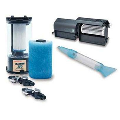Marineland Presents Marineland (Ml) Magnum 350 Pro System Filter. Complete Magnum 350 Deluxe Package, Bio-Wheel Pro 60 Wet/Dry Biological Filter. Certified Flow 350 Gph. [28455]
