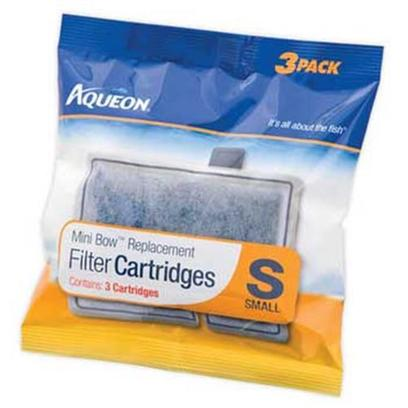 Aqueon Presents Aqen Mini Bow Cartridge 3pk Replacement Small Filter Cartridges. Replacement Cartridge for Mini Bow 3pack [28541]