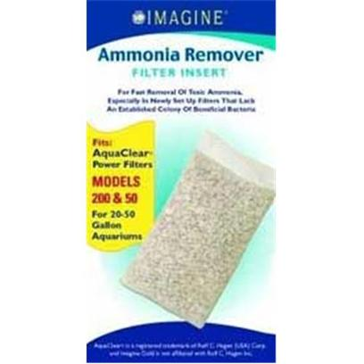 Imagine Gold Presents Imagine Gold Aquaclear 50 (200) Ammonia Remover Fits Models 200. For Fast Removal of Toxic Ammonia,Especially in Newly Set Up Filters that Lack an Established Colony of Beneficial Bacteria Fitsaquaclear(R) Power Filters Models 200 &amp; 50, for 20-50 Gallon Aquariums [28576]