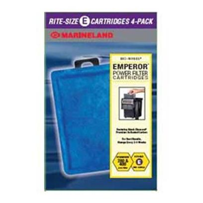 Marineland Presents Marineland (Ml) Cart E Emperors 4 Pack. Fits Emperor Power Filters 4 Pack [28634]