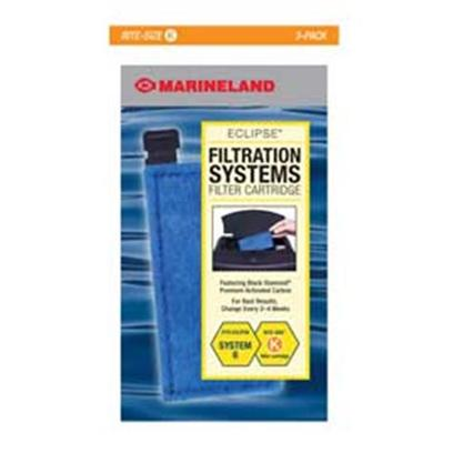 Marineland Presents Marineland (Ml) Cart K Eclipse 6 3 Cartridges. Fits Eclipse System Six 3 Pack Cartridges Fit Eclipse System Six. [28640]