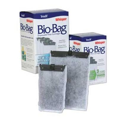 Tetra Usa Presents Tetra Bio Bag Medium (Med) Cart (Jr) Bio-Bag Cartridge 3pack Box. Whisper Bio-Bag Cartridges Complete the Whisper Power Filter Package for a Clean, Easy-to-Maintain Aquarium. Filled with Ultra-Activated Carbon, Ready to Use Disposable Cartridge Remove Waste Particles, Odors and Discoloration, and are Easily Changed Once a Month. Medium Size, 3-Pk Assembled [28658]