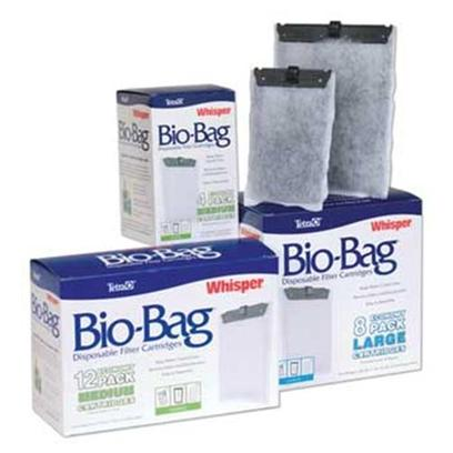 Tetra Usa Presents Tetra Bio Bag Extra Large (Xl) Refill 4pk Bio-Bag Cartridge Refills. Whisper Bio-Bag Cartridges Complete the Whisper Power Filter Package for a Clean, Easy-to-Maintain Aquarium. Filled with Ultra-Activated Carbon, they Remove Waste Particles, Odors and Discoloration, and are Easily Changed Once a Month. Multi-Packs Come Unassembled and Offer Economical Pricing on Larger Quantities. Ex-Large Size, 4-Pk Unassembled [28662]
