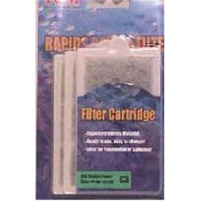 Tom (Tominaga/Oscar) Presents Tom Rapids Mini Filter Cart 3pk Cartridge 3 Pack. Fits Rapids Power Filter Pf-80. Rapids Filter Cartridge Supplies Optimum Mechanical and Chemical Filtration. As Aquarium Water is Pumped through the Filter Cartridge's Thick Poly-Filter Material, Undesirable Particulate Matter and Other Waste Material are Readily Removed. [28672]