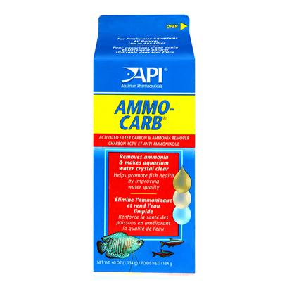 Aquarium Pharmaceuticals Presents Aquarium Pharmaceuticals (Ap) Ammo Carb Carton 38lb-Bulk. A Special Blend of Highly Activated Carbon and Ammonia Removing Zeolite. Contains More Carbon than Other Brands. Use in any Power Filter or Bubble Filter for Improved Filtration and Clearer Water. Filtration Media for the Freshwater Hobbyist that Mixes Ammo-Chips and Activated Filter Carbon to Rid Aquarium Water of Dissolved Organic Materials and Ammonia. [28674]